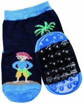 anti-slip sokken Stoppi piraat marine Maat: 18-19