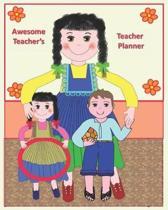 Awesome Teacher's Teacher Planner