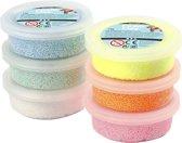 Foam Clay - Klei - Set met 6 Kleuren met Glitter