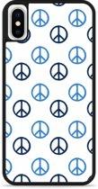 iPhone X Hardcase hoesje Peace