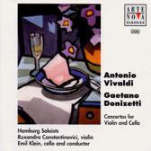 Vivaldi, Donizetti: Concertos / Klein, Constantinovici