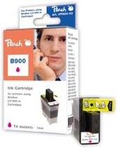 Peach B900 - Inktcartridge Brother LC900M - Magenta