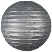 Luxe bol lampion Ø 25 cm - Zilver