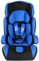 TecTake autostoel - 9 tot 36 kg - blauw / zwart - met extra vulling - 400569