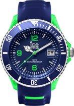 Ice-Watch - SR.3H.BGN.BB.S.15 Sporty Big Big - Horloge - Kunststof - Blauw