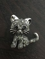 Broche kat