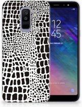 Samsung Galaxy A6 Plus (2018) TPU Siliconen Hoesje Slangenprint