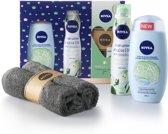 NIVEA geschenkset Fresh Clay Love cadeaupakket