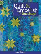 Quilt and Embellish in One Step