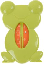 badthermometer - Kikker - groen - thermometer bad baby