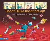 Strips voor beginnende lezers - Robot Rikko knapt het op!