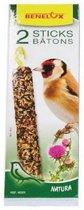 Zadensticks voor vogels - set van 14 stuks
