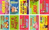 10 Humor Felicitatie wenskaarten - 11x16cm - 10 grappige Verjaardag kaarten met enveloppen