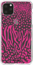 Casetastic Smartphone Hoesje Softcover Apple iPhone 11 Pro Max - Safari Pink