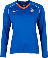 Nike Sportshirt - Maat L  - Vrouwen - blauw/wit/oranje