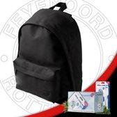 Feyenoord Rugtas Backpack 20 liter - Zwart + Oramint Oral Care Kit Combi Deal