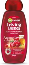 Garnier Loving Blends Argan & Cranberry Kleur Verzorgende Shampoo - 300 ml - Shampoo