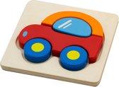 Viga Toys - Mini Puzzel - Auto
