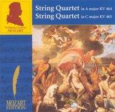 Mozart: String Quartet in A major, KV 464; String Quartet in C major, KV 465