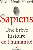 Boekomslag van 'Sapiens'