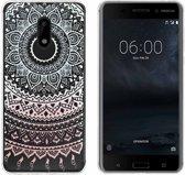 MP Case TPU case Mandala print voor Nokia 6 back cover