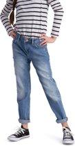 Meisjes Jeans - Spijkerbroek Boyfriend Puffin Blauw maat 134