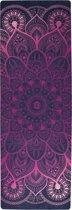ZENAGOY GO Spirit's Yoga mat Indian Summer van Rubber met Microvezel Toplaag | Inclusief Draagband | Eco-Vriendelijk | Ideaal voor Hot Yoga, Bikram en Ashtanga | 180 x 61cm x 3.5mm