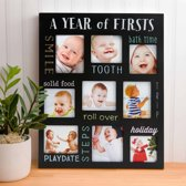 Pearhead Fotoframe Baby's Firsts krijtbord