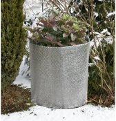Winter planten vorstvrij bewaren noppenfolie/bubbeltjesfolie op rol 5 x 1 m - Bubbelfolie/bubbeltjesplastic tuin