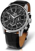 Vostok Europe OS22-5611131 horloge heren - zwart - edelstaal
