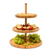 Relaxdays Etagere - 3 laags - Bamboe
