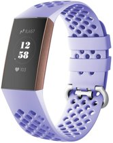 123Watches.nl Fitbit charge 3 sport point band - lavendel