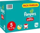 Pampers Baby-Dry Nappy Pants Luierbroekjes - Maat 5 (12-17 kg) - 84 luierbroekjes