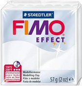 Fimo Transparent Weiß Soft Effect