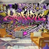 Fotobehang - Hey You - Graffiti