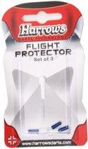 Harrows Darts Flight Protector Aluminium Per 3 Stuks Blauw