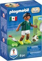 PLAYMOBIL Nationale Voetbalspeler Mexico - 9515