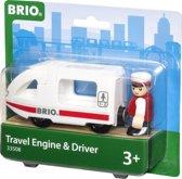 Brio Locomotief met Machinist
