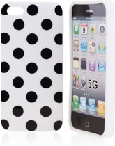 Silicon Hoesje voor iPhone 5 White Love