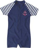 56da7ae0d228a2 Playshoes UV zwempak Kinderen korte mouwen Maritime - Blauw - Maat 86/92