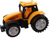 Jonotoys Tractor Super Farm 9 Cm Geel