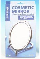 Make-up spiegel chroom - Cosmetica spiegel - Scheerspiegel - Staande spiegel