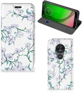 Motorola Moto G7 Play Smart Cover Blossom White