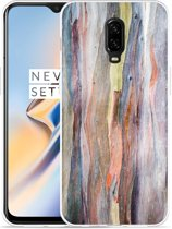 OnePlus 6T Hoesje Wood Art II