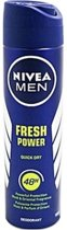 Nivea Deospray Men – Fresh Power 150 ml