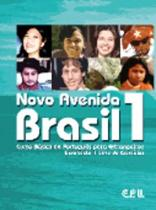 Boekomslag van 'Novo Avenida Brasil 1 livro-texto/de exercícios + audio-cd'