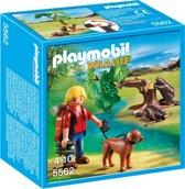Playmobil Bevers met natuurwetenschapper  - 5562