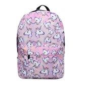 Emoji unicorn  rugzak  - 42 cm hoog - roze