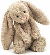Jellycat - Bashful Bunny - Beige - Knuffelkonijn - Knuffel - Small - 18cm