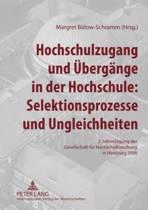 Hochschulzugang Und Uebergaenge in Der Hochschule